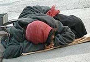 کارتن خواب